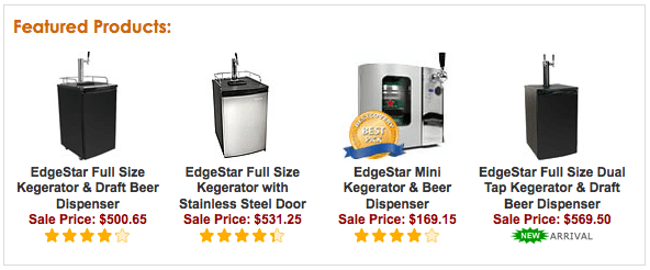 Kegerator Buying Information and Reviews on Mini's, Conversion Kits, and Parts
