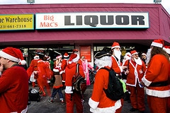 The Holidays and the Liquor Store