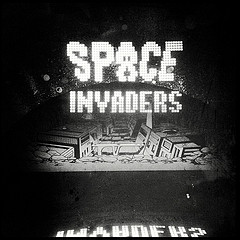 Space Invaders and Arcade Game of the Past