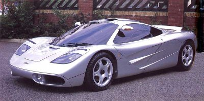 Awesome Cars and McLaren F1