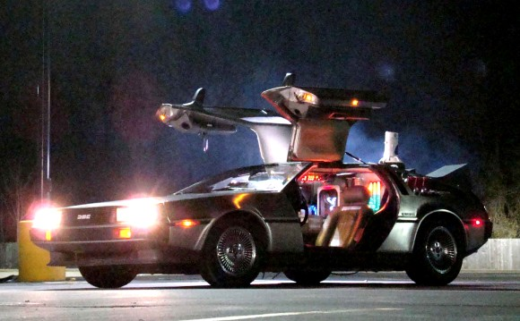 Awesome Cars and Back to the Future DeLorean