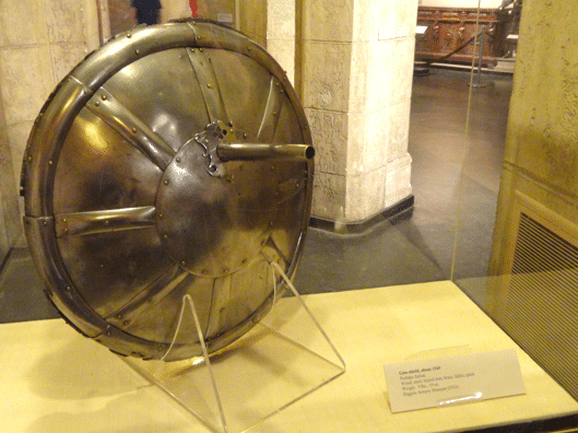 Incredible Medieval Weapons and the Gun Shield