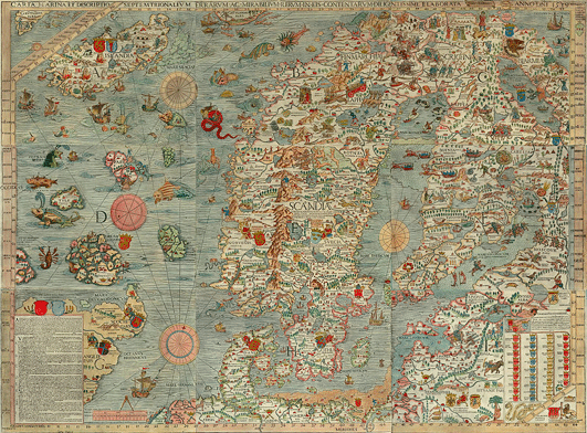 The Most Interesting Historic Maps of the World