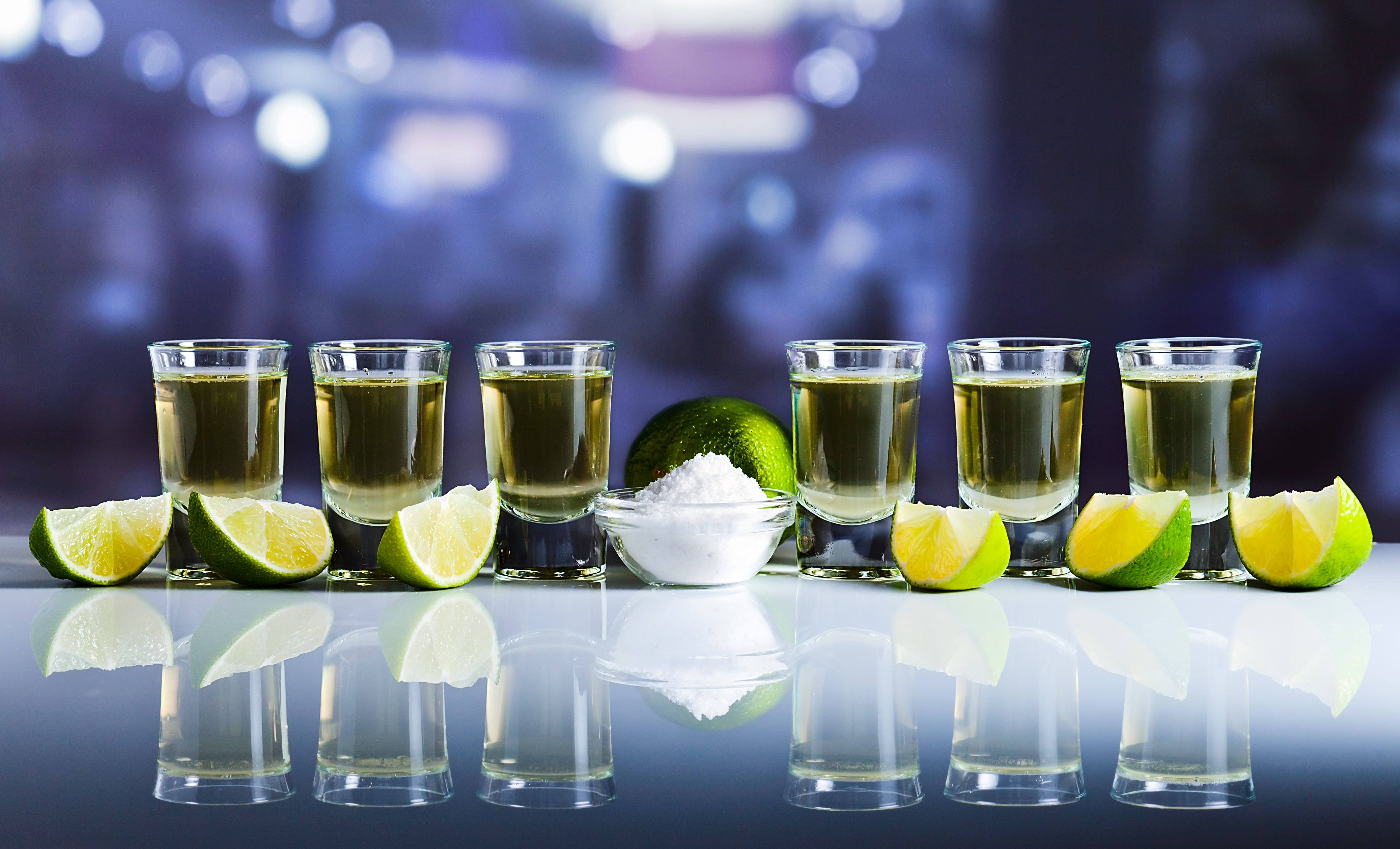A SHOT OF TEQUILA A DAY …