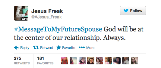 Best Message To My Future Spouse Tweets