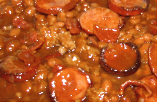 Tailgating Recipe/Homegating Recipe (Side Dish) – Bourbonized Baked Beans