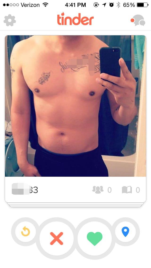 Tinder on male selfies Are Selfies